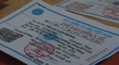 Thẻ BHYT giả bị cơ quan chức năng thu giữ có thời hạn sử dụng tới 2 năm.