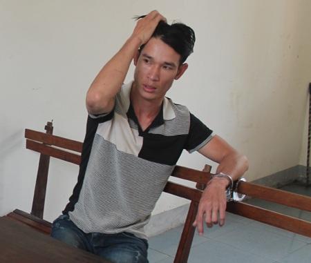 Đối tượng Nguyễn Đình Thái, kẻ đã bỏ 20 triệu thuê người chém đối thủ tàn phế.