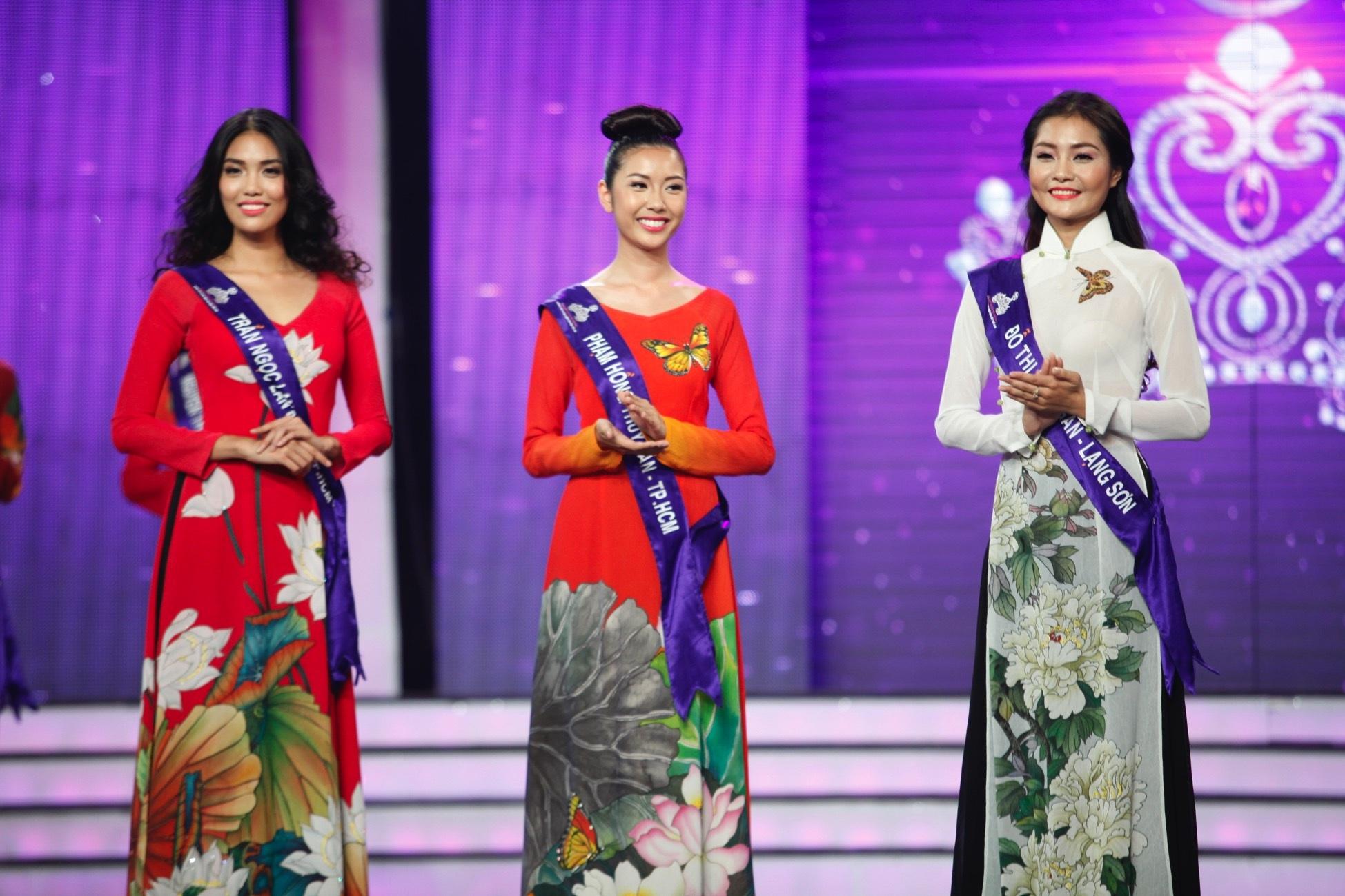 Top 3 vị trí cao nhất tuần Lan Khuê - Thúy Vân - Kim Ngân