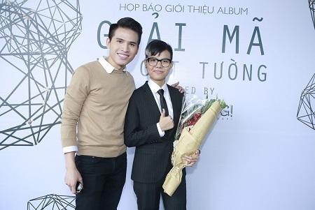 Cựu quán quân Vietnam Idol Quốc Thiên cũng có mặt để chung vui cùng Cát Tường