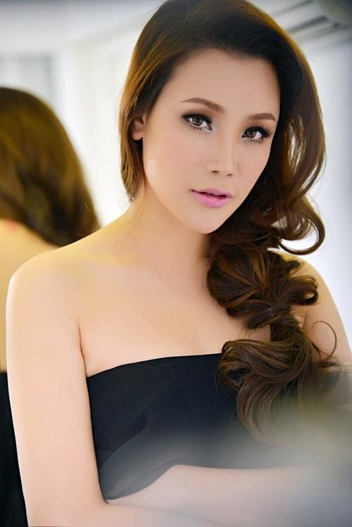 Hồ Quỳnh Hương hy vọng sẽ có duyên với cô bé Thanh Thảo
