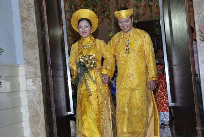 Đám cưới của Thúy Nga và ông Nam vào năm 2010