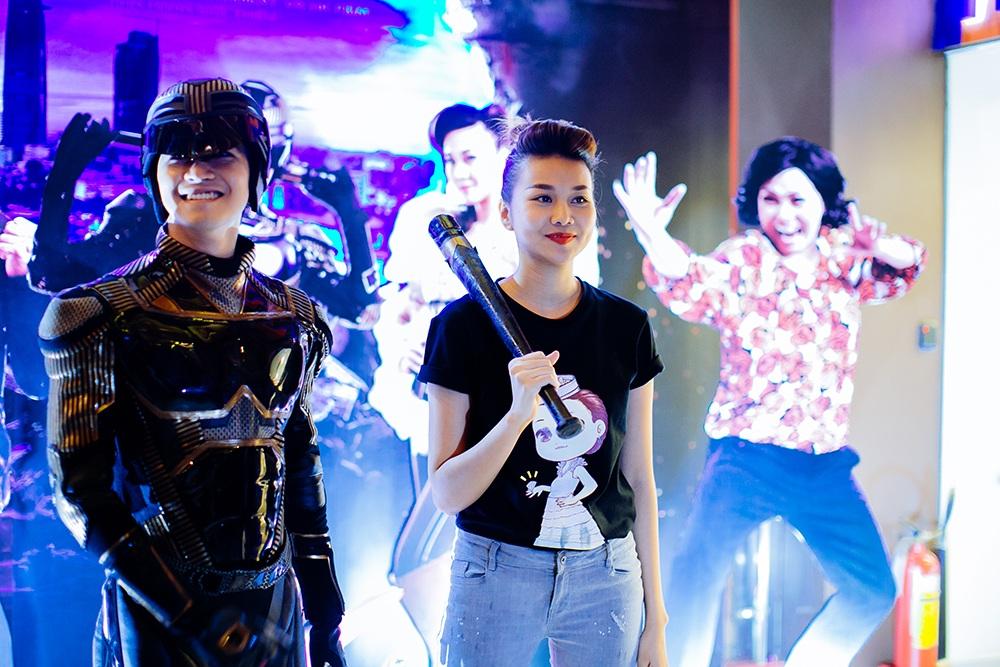 Trong phim này, Thanh Hằng gây ấn tượng với vai diễn của nhân vật Kỳ Kỳ vừa dễ thương vừa hài hước.