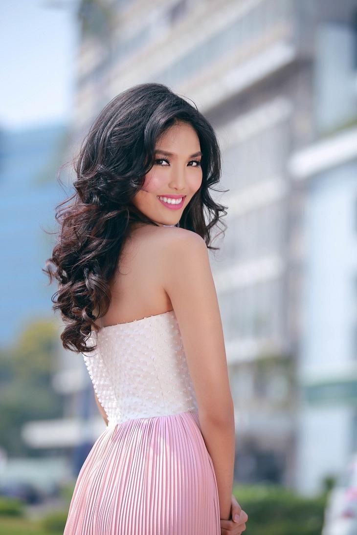 Cận cảnh nhan sắc hoa hậu thế giới Việt Nam 2015 Lan Khuê