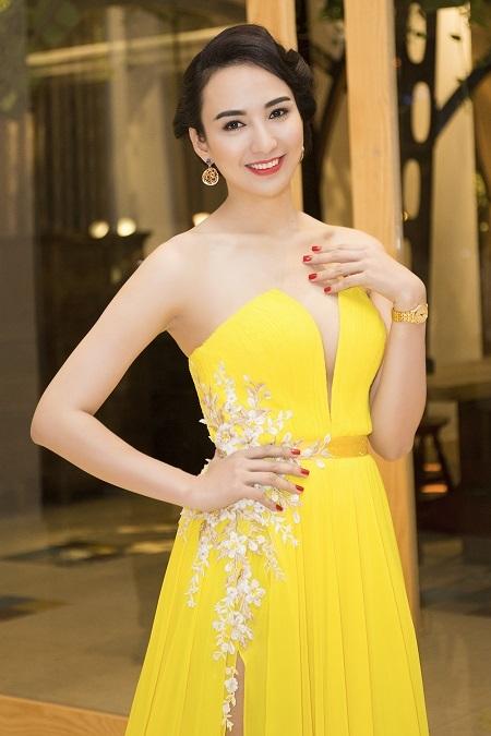 Ngọc Diễm được xem là một trong những hoa hậu trí thức hiếm scandal của showbiz Việt.