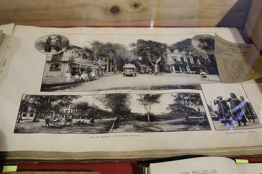 Sách ảnh về Sài Gòn xưa được trưng bày ấn tượng tại Đường sách Xuân Ất Mùi 2015.