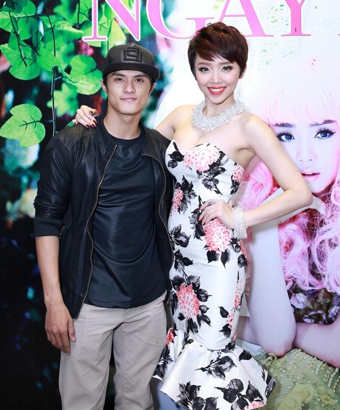 Sự kiện tối qua còn có nam vũ công Lâm Vinh Hải.