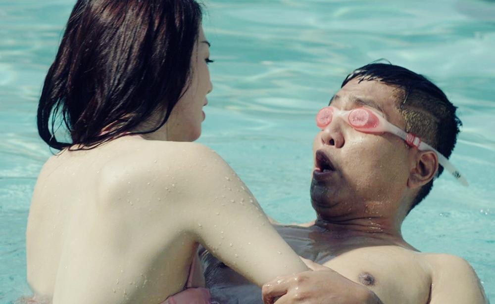 Nữ diễn viên đóng vai cô giáo dạy bơi trong bộ phim điện ảnh Ma Dai.