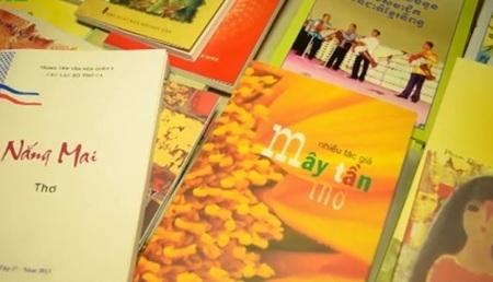 Nhiều tập thơ được giới thiệu tại Ngày thơ Việt Nam ở Tp.HCM