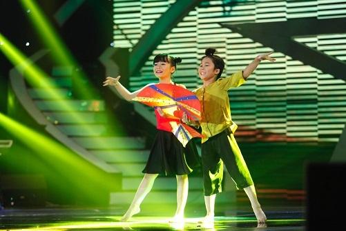 Cặp đôi vũ công nhí