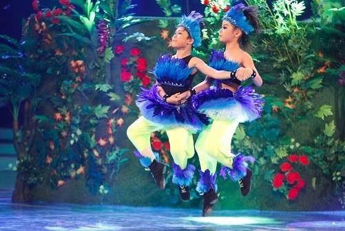 Cặp đôi vũ công nhí đáng yêu Đức Huy - Thục Nhi