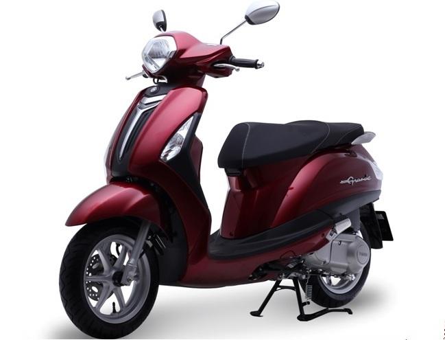 Yamaha Grande là dòng xe tay ga cao cấp dành cho nữ