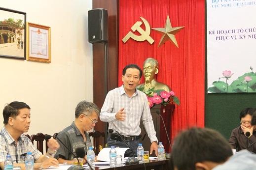Ông Võ Trọng Nam - Phó giám đốc Sở Văn hóa và Thể thao TPHCM chia sẻ về kế hoạch chương trình