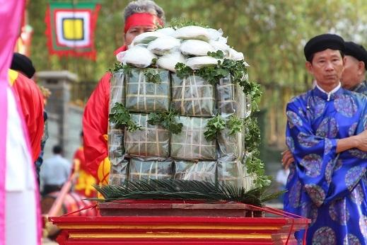 Lễ vật dâng lên các vua Hùng