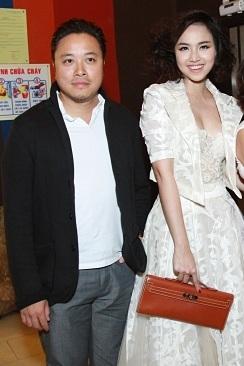 Victor Vũ cùng Đinh Ngọc Diệp ra mắt phim Bảo mẫu siêu quậy mà cô đảm nhận vai chính