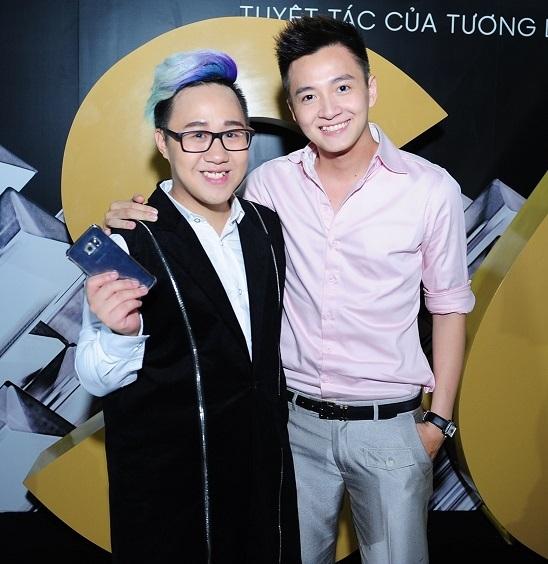 Hai ca sĩ Ngô Kiến Huy và Trung Quân Idol cũng là những cái tên nhận được sự chờ đón của giới trẻ
