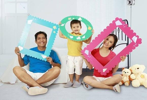 Những gia đình sao Việt lý tưởng