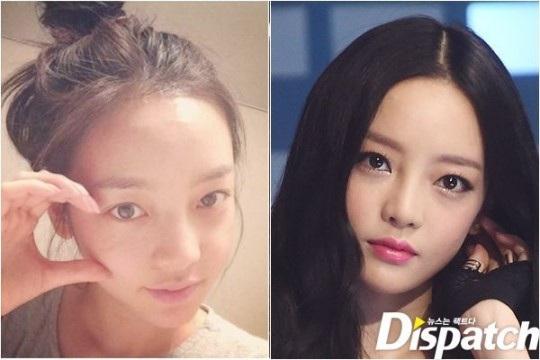 Ngắm mặt mộc của bảy mỹ nhân Hàn Quốc