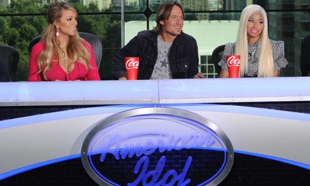 Mariah Carey và Nicki Minaj trên ghế giám khảo Thần tượng âm nhạc Mỹ