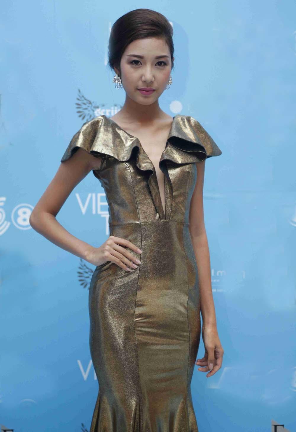 Hoa khôi áo dài Thụy Vân làm MC chương trình