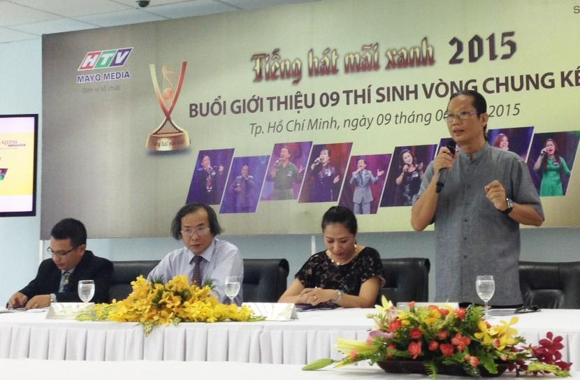 Ban tổ chức chương trình Tiếng hát mãi xanh lần 5