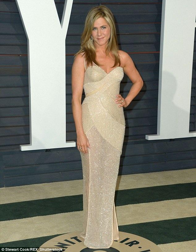 Jennifer Aniston thời điểm hiện tại.