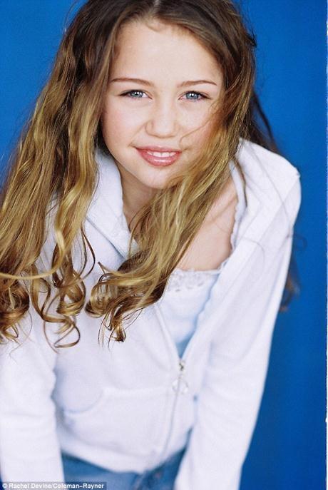 Miley đã bộc lộ tố chất nghệ sĩ từ ngày còn bé