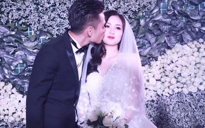 Hạnh phúc bên chồng trong lễ kết hôn