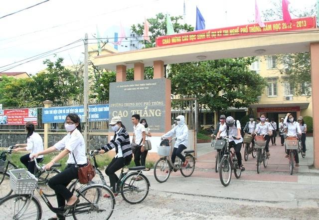 Rất nhiều sai phạm về tài chính được phát hiện ở Trường THPT Cao Thắng (TP
