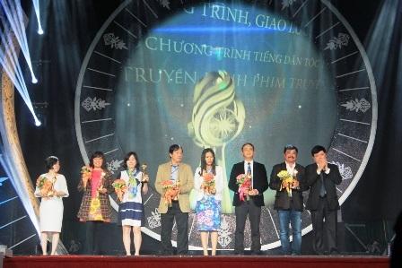 Giải vàng chương trình Ca múa nhạc, Sân khấu