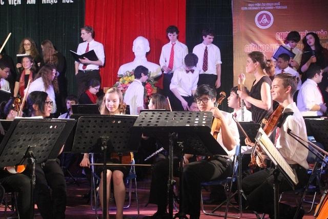 Những nhạc công đến từ Mỹ đã đem đến một đêm nhạc tuyệt vời