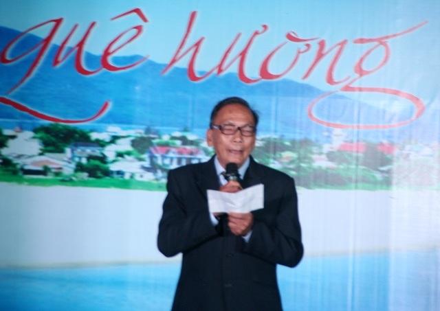 Nhà thơ Nguyễn Như Kính (CLB Sông Bồ - Hương Trà) đã viết bài thơ