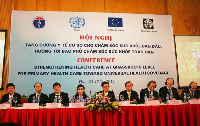 Nhiều lãnh đạo y tế quốc tế đã về tham dự hội nghị