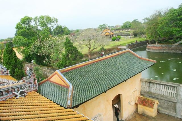 Hệ thống hồ nước và các đình trong Đại Nội