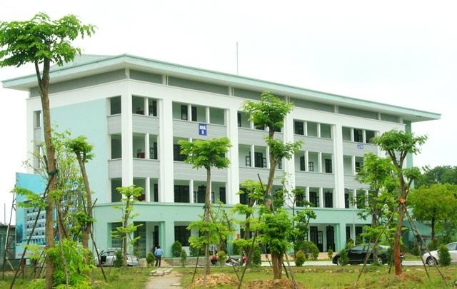 Khu giảng đường Đại học Luật Huế.