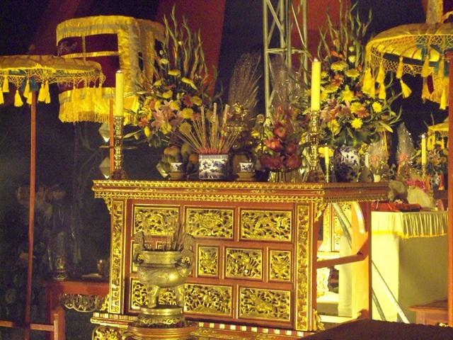 Linh thiêng lễ tế Xã Tắc 2015 vào rạng sáng