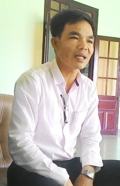 Ông Trần Văn Thịnh, Giám đốc Ban quản lý Dự án Chi nhánh Công ty TNHH Trùng Phương,