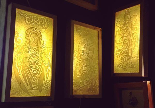 Nghệ thuật Trúc Chỉ đưa đến những bức tranh trong giấy độc đáo