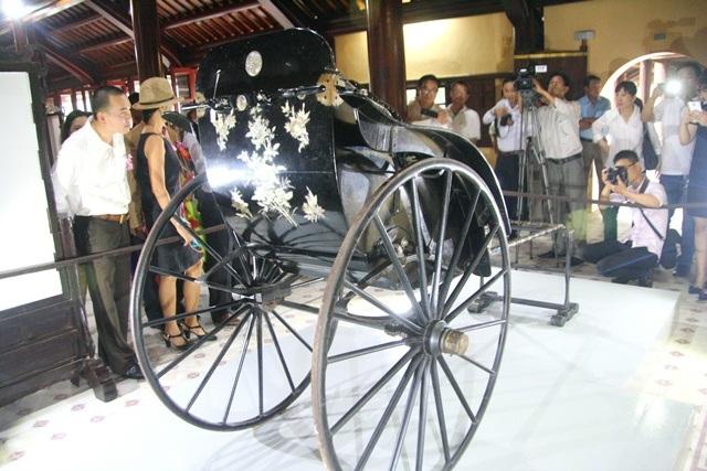 Chiếc xe kéo của vua Thành Thái bị thất lạc hơn 100 năm
