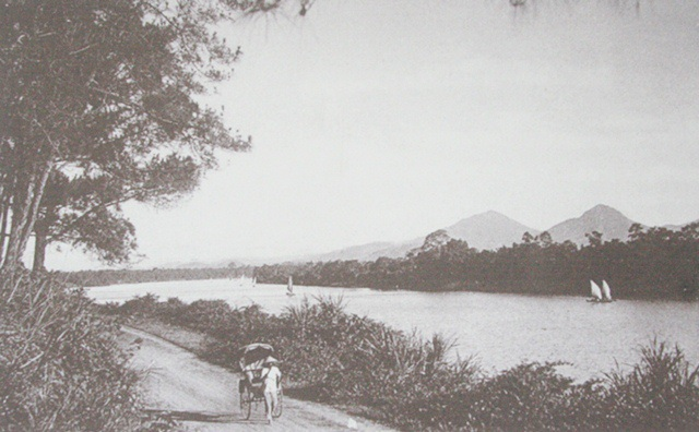 Hình ảnh xe kéo xưa