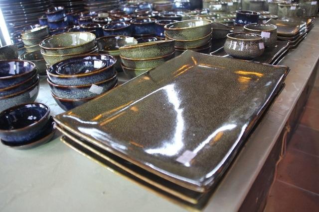 Sản phẩm gốm sứ Pháp Lam đa dạng về chủng loại và có tính ứng dụng cao