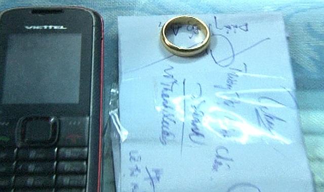 Chiếc nhẫn Thìn dùng để tráo