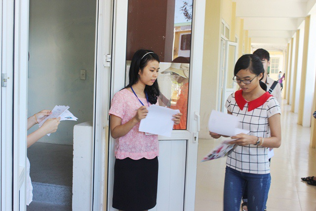 Điểm thiở trường ĐH Khoa học Huế thuộc cụm thi 26 do ĐH Huế tổ chức để xét vào ĐH, CĐ