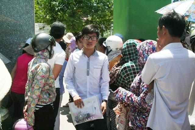 Nhiều thí sinh kết thúc buổi thi Toán tại Huế với tâm trạng không vui.