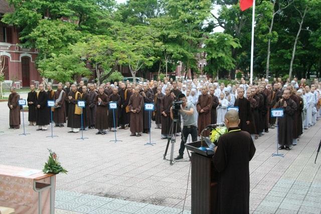Lễ khai mạc kỳ thi tuyển sinh Cử nhân Phật học tại Huế