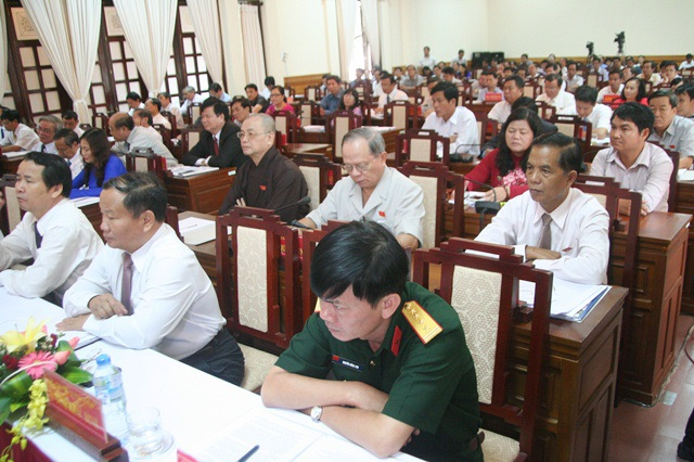 Kỳ họp thứ 10 HĐND tỉnh Thừa Thiên -Huế lần VI.