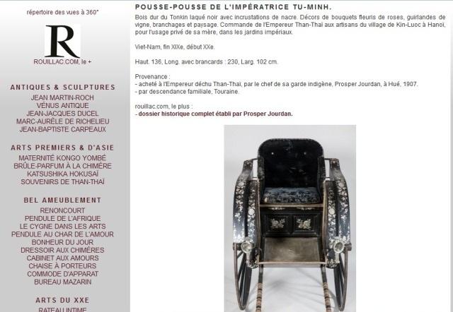 Thông tin về chiếc xe kéo từ Rouillac, dịch nghĩa đoạn trên