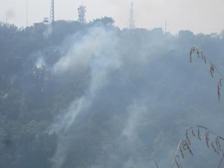 2 trạm thu phát sóng suýt bị đe dọa do cháy rừng