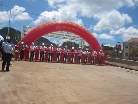 Con đường huyết mạch của các tỉnh Tây Nguyên chính thức được thông xe