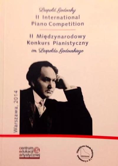 Hình ảnh giới thiệu cuộc thiPiano quốc tế mang tên LÉOPOLD GODOWSKY.